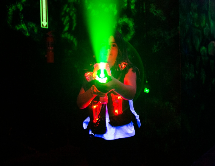 Photographing Laser Tag – Birthday Party Photography in LosAngeles