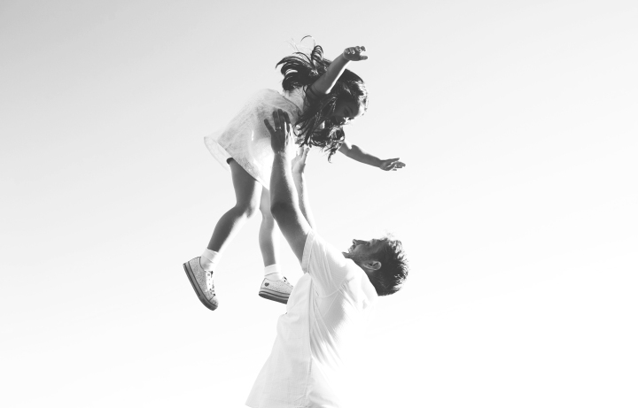 B&W stole my heart – A Family Portrait Session in Los Angeles
