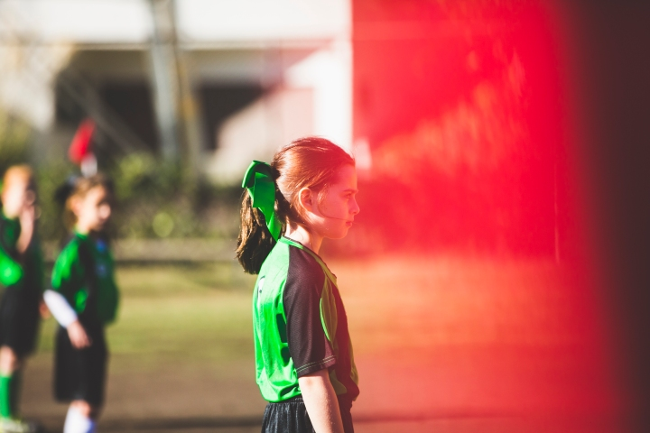 Green Thunder – Soccer Game Photography in LosAngeles