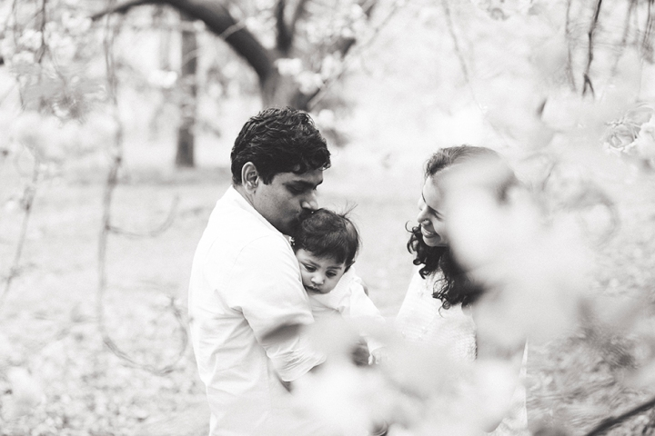 Cherry Blossoms of Central Park | NYC Family Portrait Photographer