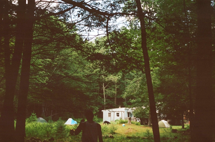 Into the Woods | Celebrating 3 Birthdays in Upstate NY | 35mm Film by Los Angeles Photographer
