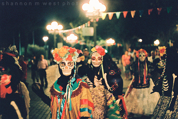 Día de los Muertos on Olvera Street 2017 |  35mm Film Photography