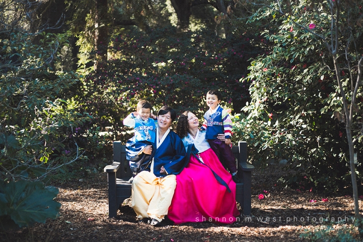 The Brothers | A Family Portrait Session in Descanso Gardens